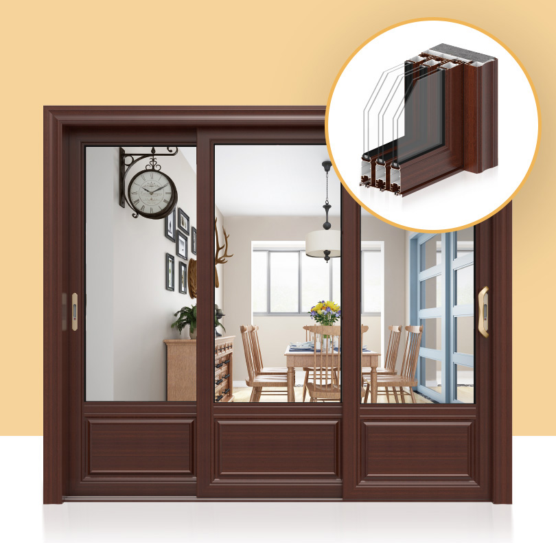 Home Design Three Linkage Sliding Door